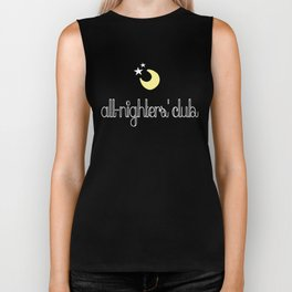 all-nighters' club Biker Tank