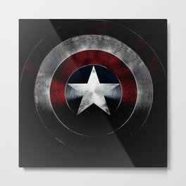 star shield Metal Print