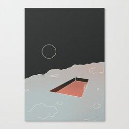 Moon Pool Canvas Print