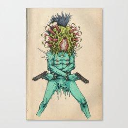 Eye-Pop Assassin Canvas Print