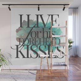 FOREHEAD KISSES Wall Mural