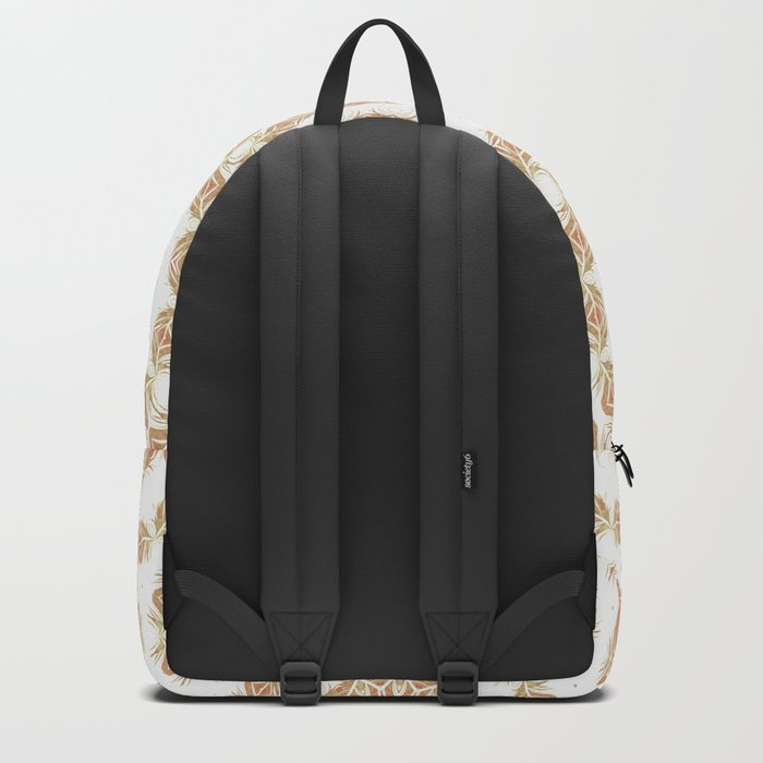 Citrine Mandala Tile Backpack