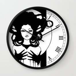 Ebony Wall Clock