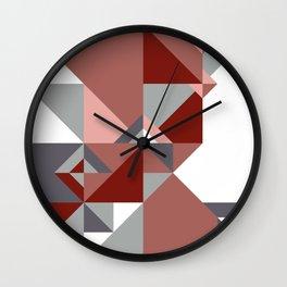 Triangle Shape Bottle Wall Clock