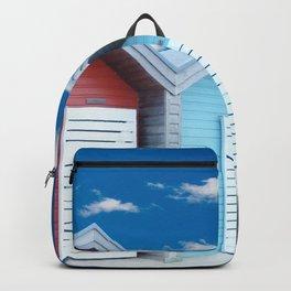 'Beach huts' Northumberland Backpack
