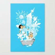 The Bubbly Imagination Canvas Print