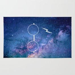 Nebula Lightning Scar HP Rug