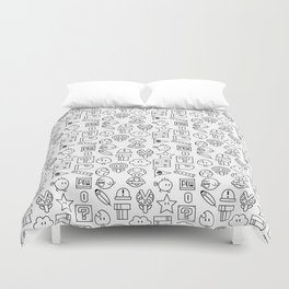 Super Mario PAttern Duvet Cover