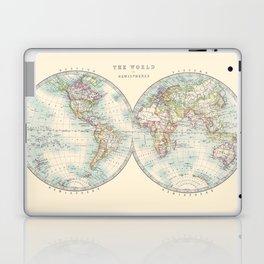 Hemispheres Laptop & iPad Skin