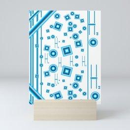 Blue Water Mini Art Print