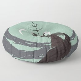 Night Hunt Floor Pillow