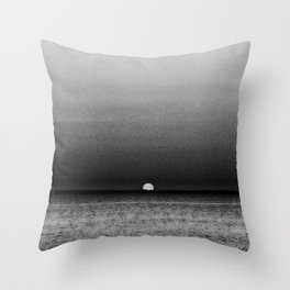 Sunset in Grayscale... Throw Pillow
