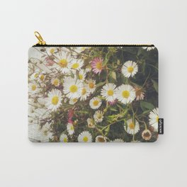 Wall of Daisies Carry-All Pouch