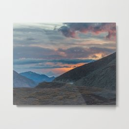 Polychrome Pass Denali National Park Mt McKinley Mt Denali Metal Print