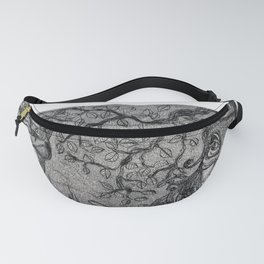 Arlecchino & Colombina by Ines Zgonc Fanny Pack
