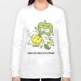 When Life Gives You Lemons by dana alfonso Long Sleeve T-shirt