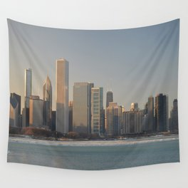Chicago skyline #2 Wall Tapestry