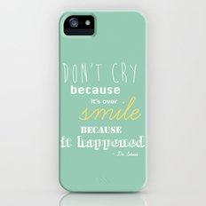 Dr. Seuss Quote Slim Case iPhone (5, 5s)