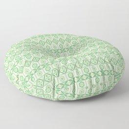 Tribal Geometric Pattern Floor Pillow