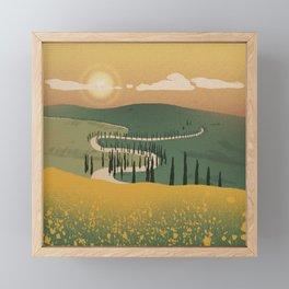 Feels Familiar Framed Mini Art Print