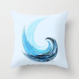 - La Vague - Throw Pillow