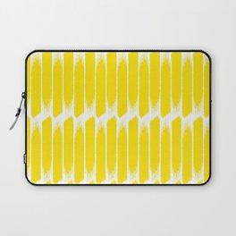 Brush yellow Laptop Sleeve