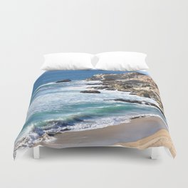 CALIFORNIA COAST - BLUE OCEAN Duvet Cover