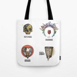 4 Biblical phrases Tote Bag