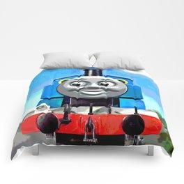Thomas Has A Smile Comforters