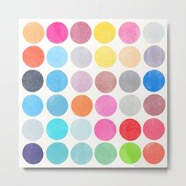 colorplay 9 Metal Print