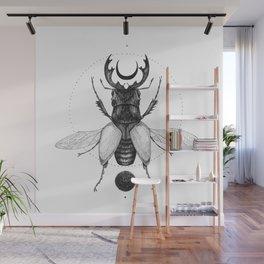 Sun Beetle Wall Mural