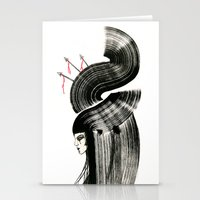 arrows Stationery Cards featuring arrows by Kraken Khan