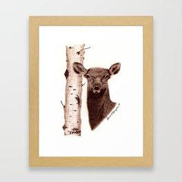 Lead Cows Know Framed Art Print