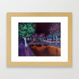 Bourton at night II Framed Art Print