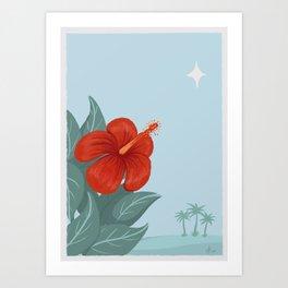 Festividades Felices Art Print