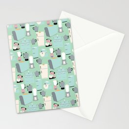 Retro Kitchen Stationery Cards
