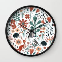 australia Wall Clocks featuring Australia by Mel Armstrong