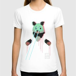 Panda with F$%king Lazers T-shirt