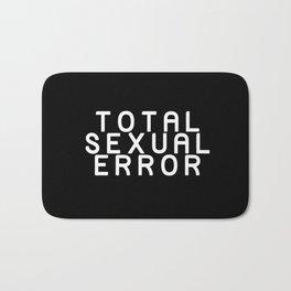 TOTAL SEXUAL ERROR Bath Mat