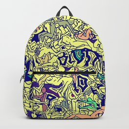 Kamasutra LOVE - Piss Yellow Backpack