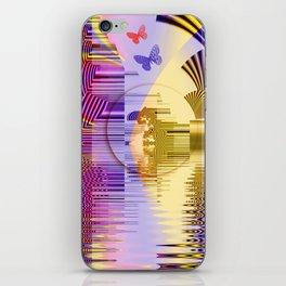 Geometric Glorious Morning iPhone Skin