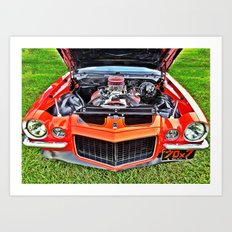 Car Engine Art Print