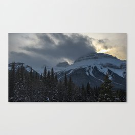 Rocky Mountains Two Canvas Print