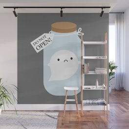Trapped Little Ghost Wall Mural