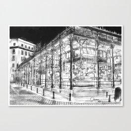 San Miguel Market (Madrid) Canvas Print