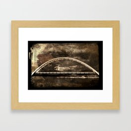 Arched Bridge Over Roosevelt Lake Framed Art Print
