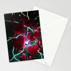 Hearts are meant to break. But there's always more hearts. Stationery Cards