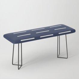 Organic / Navy Bench