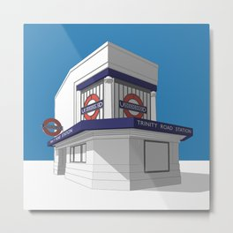 Trinity Road (Tooting Bec) Metal Print