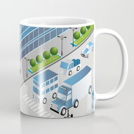 Urban crossroads Coffee Mug